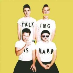 talking is hard walk the moon cover art